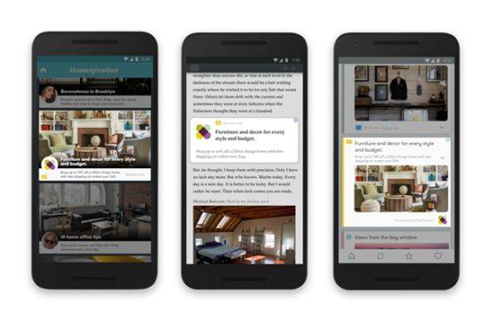 Změna vzhledu mobilních reklam